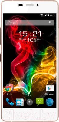 Смартфон Fly IQ4516 Octa Tornado Slim (White) - общий вид