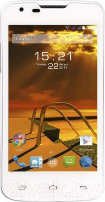 Смартфон Fly IQ4401 Energy 2 (White) - общий вид