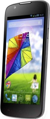 Смартфон Fly IQ4413 / Chic 3 (черный) - общий вид