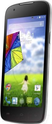 Смартфон Fly IQ4413 / Chic 3 (серебристый) - общий вид
