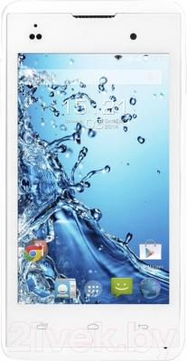 Смартфон Fly IQ4418 / Era Style 4 (белый) - общий вид