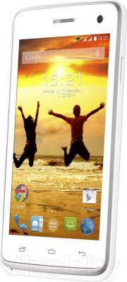 Смартфон Fly IQ4490i Era Nano 10 (White) - общий вид