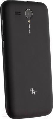 Смартфон Fly IQ4502 Quad (Black) - вид сзади