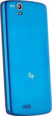 Смартфон Fly IQ4503 Era Life 6 (Blue) - вид сзади