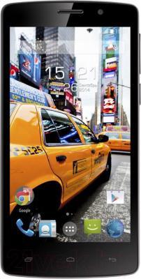 Смартфон Fly IQ4504 Evo Energy 5 (Black) - общий вид