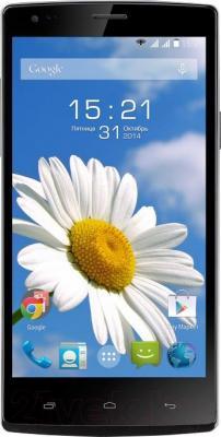 Смартфон Fly IQ4505 Life 7 (Black) - общий вид