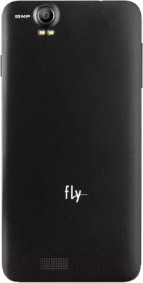 Смартфон Fly IQ4512 Chic 4 (Black) - вид сзади