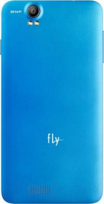 Смартфон Fly IQ4512 Chic 4 (Blue) - вид сзади
