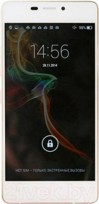 Смартфон Fly IQ4516 Octa (White) - общий вид