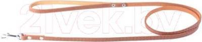Поводок Collar 4436 (коричневый, непрошитый) - общий вид
