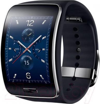 Интеллектуальные часы Samsung Gear S SM-R750 (Black) - общий вид