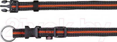 Ошейник Trixie 20600 Fusion Collar (S-M, Black-Orange) - общий вид