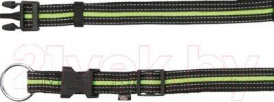 Ошейник Trixie 20640 Fusion Collar (S-M, черно-зеленый) - общий вид