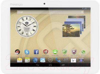 Планшет Prestigio MultiPad Ranger 8.0 8GB 4G (PMT5287_4G_C_WH) - общий вид