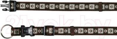 Ошейник Trixie 15976 Modern Art Collar (L-XL, мокка) - общий вид