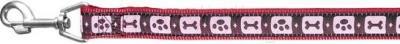 Поводок Trixie 17029 Modern Art (L-XL, бордовый) - общий вид