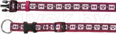 Ошейник Trixie 17099 Modern Art Collar (M-L, бордовый) - общий вид
