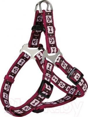 Шлея Trixie 16979 Modern Art Harness (S, бордовый) - общий вид