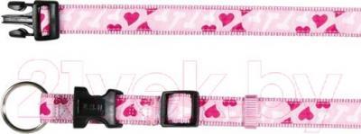 Ошейник Trixie 15958 Modern Art Collar (S-M, розовый) - общий вид