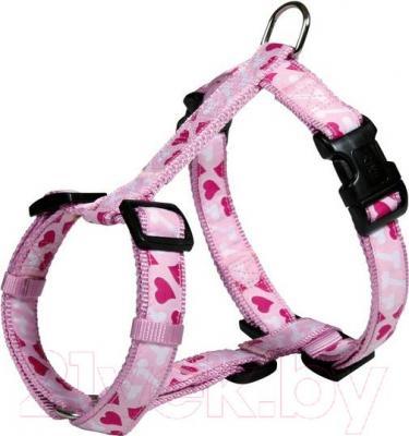 Шлея Trixie 16008 Modern Art H-Harness (M-L, розовый) - общий вид