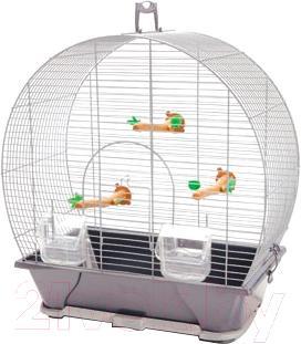 Клетка для птиц Savic Evelyne 30 (серый) - общий вид