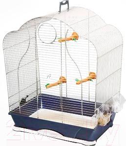 Клетка для птиц Savic Isabelle 40 (темно-синий) - общий вид