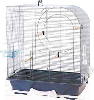 Клетка для птиц Savic Arte 50 (темно-синий) - общий вид