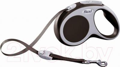 Поводок-рулетка Flexi Vario 12077 (M, коричневый) - общий вид