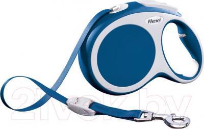 Поводок-рулетка Flexi Vario 12082 (L, синий) - общий вид