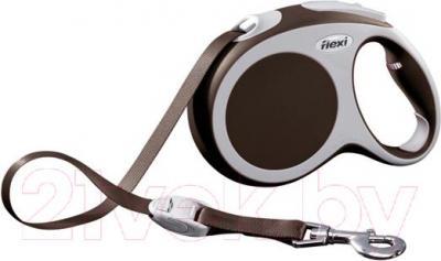 Поводок-рулетка Flexi Vario 12087 (L, коричневый) - общий вид