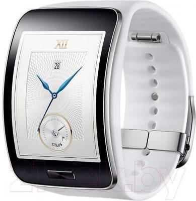 Интеллектуальные часы Samsung Gear S SM-R750 (White) - общий вид