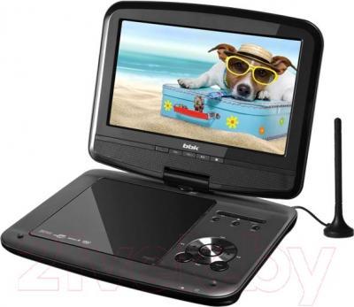 Портативный DVD-плеер BBK PL744TI (Black) - общий вид