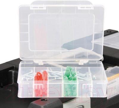 Ящик для инструментов Allit 476221 - пластиковый контейнер для крепежа