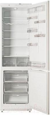 Холодильник с морозильником ATLANT ХМ 6026-100 - внутренний вид