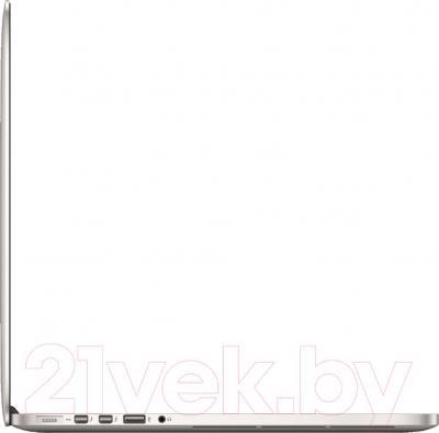 "Ноутбук Apple Macbook Pro 15"" Retina (MGXA2RU/A) - вид сбоку"