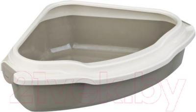 Туалет-лоток Trixie Pedro 40356 (Dark Gray-Cream) - общий вид