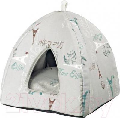 Домик для животных Trixie Paris 36340 (серый) - общий вид