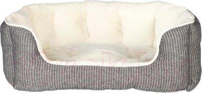 Лежанка для животных Trixie Davin 38975 (серо-кремовый) - общий вид