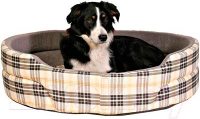 Лежанка для животных Trixie Lucky 37026 (бежево-серый) - общий вид