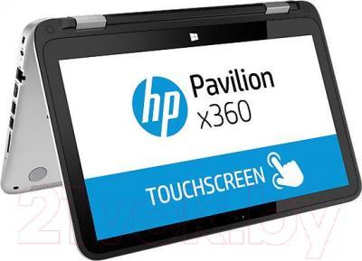 Ноутбук HP Pavilion x360 13-a151n (K1W98EA) - вполоборота