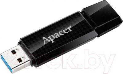 Usb flash накопитель Apacer AH352 16GB Black (AP16GAH352B-1) - общий вид