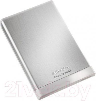 Внешний жесткий диск A-data Nobility NH13 500GB Silver (ANH13-500GU3-CSV) - общий вид