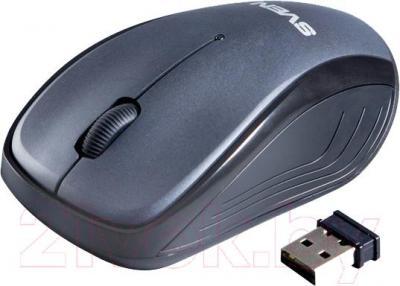Мышь Sven RX-300 Wireless (черный) - общий вид