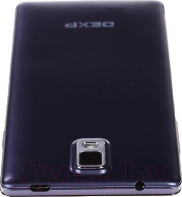 "Смартфон DEXP Ixion E 5"" (синий) - вид сверху"