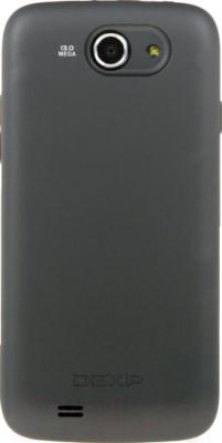 """Смартфон DEXP Ixion X 5"""" (черный) - вид сзади"""