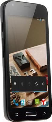 """Смартфон DEXP Ixion ES 4.5"""" (черный) - общий вид"""