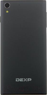"""Смартфон DEXP Ixion Y 5"""" (черный) - вид сзади"""