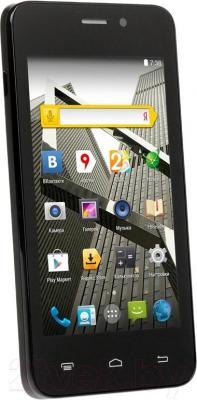"""Смартфон DEXP Ixion ES 4"""" (черный) - общий вид"""