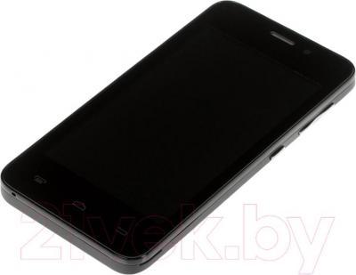 """Смартфон DEXP Ixion ES 4"""" (черный) - вид лежа"""