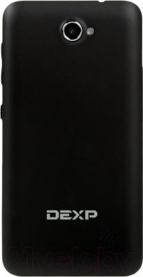 """Смартфон DEXP Ixion ES 4"""" (черный) - вид сзади"""